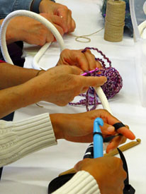 Crocheted Sculpture Workshops